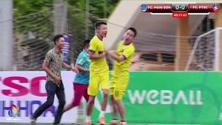 Highlight FC Nghi Sơn - FC PTSC [Bán kết 2 THF Cup 2018]