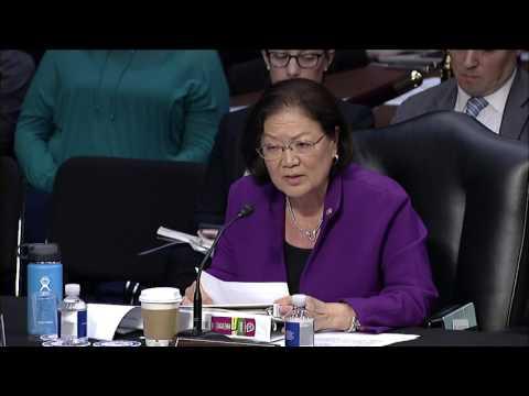 Senator Hirono Statement in Judiciary Committee on Judge Gorsuch