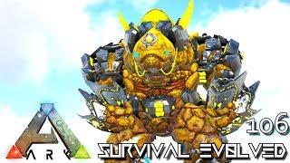 ARK: SURVIVAL EVOLVED - MYTH ROCK STAR TEK ROCK GOLEM E106 !!! ( ARK EXTINCTION CORE MODDED )