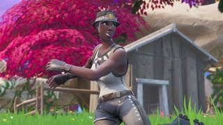 I saw a Recon Expert In Fortnite Battle Royale 0.0001% of players own this skin