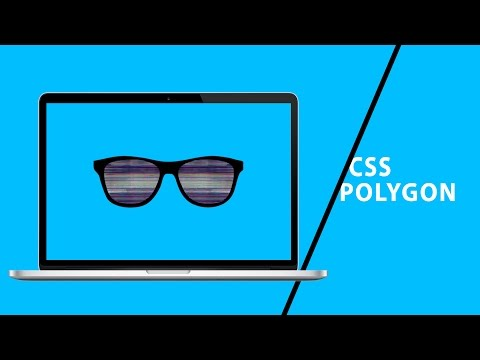 CSS Polygon Cover With Video | CSS Tutorial