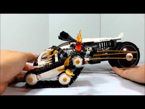 Lego Ninjago Ultra Sonic Raider Review 9449