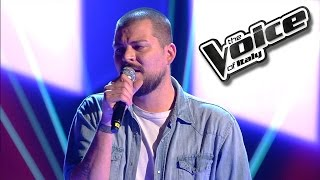 Claudio Cera - Wrecking Ball | The Voice of Italy 2016: Blind Audition