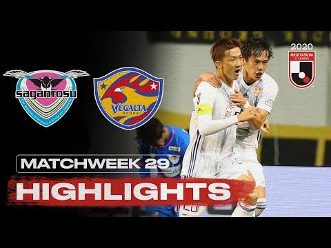 Sagan Tosu Sendai Goals And Highlights