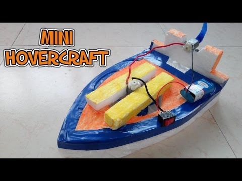 How to make a mini hovercraft at home youtube how to make a mini hovercraft at home diy technostorm solutioingenieria Image collections