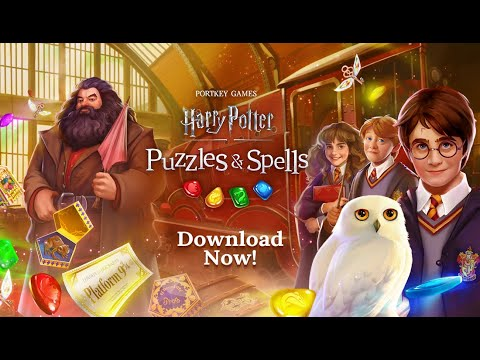 Harry Potter: Puzzles & Spells Worldwide Launch Trailer