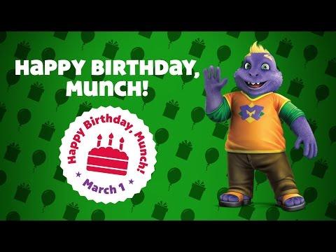 Happy Birthday, Munch! | Chuck E. Cheese's Birthdays