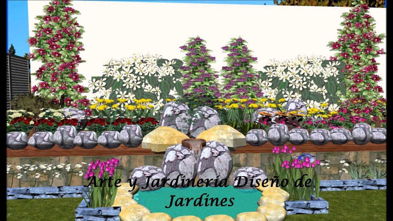 Dise o de jardines 3d 7 0 dise o mi jard n arte y - Diseno jardines y exteriores 3d ...