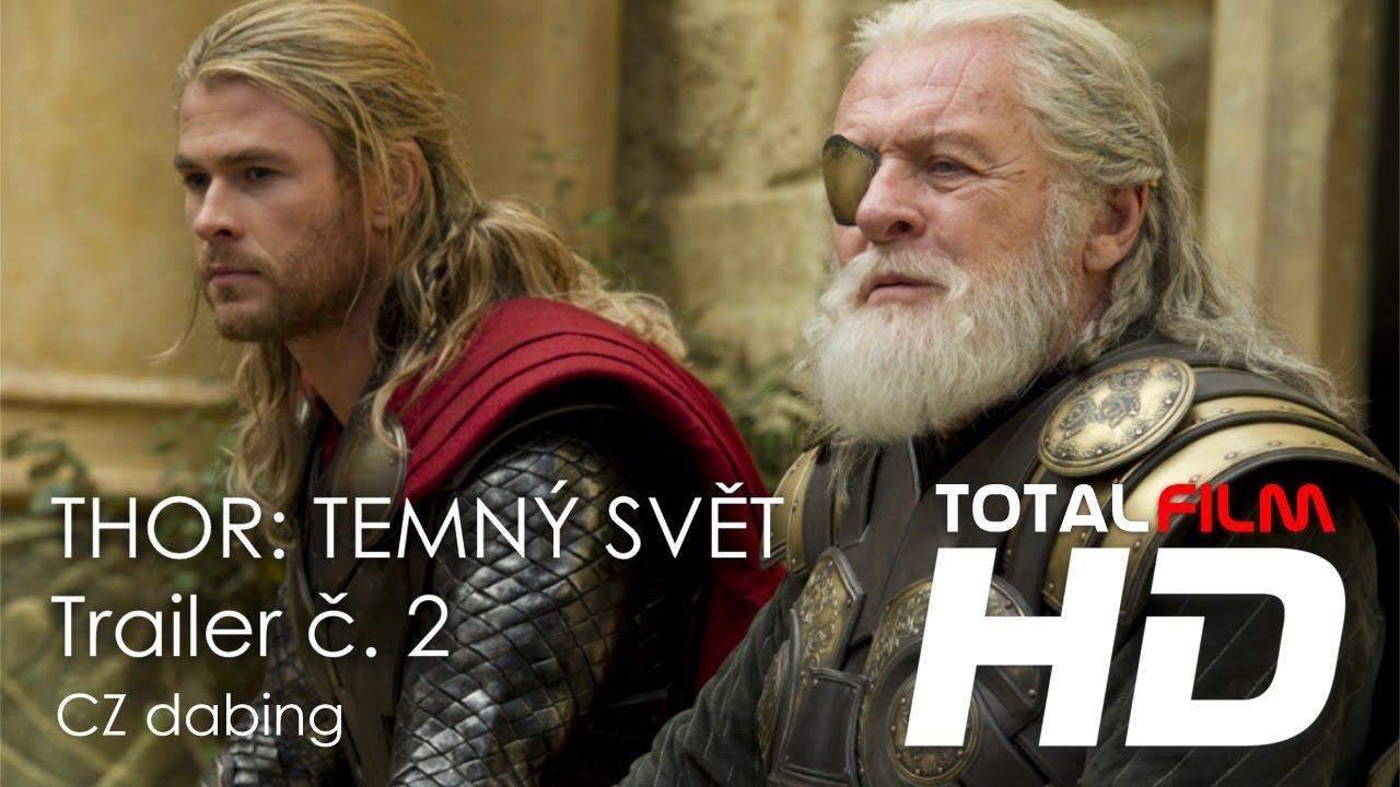 THOR: TEMNÝ SVĚT (2013) oficiální CZ HD dabing trailer
