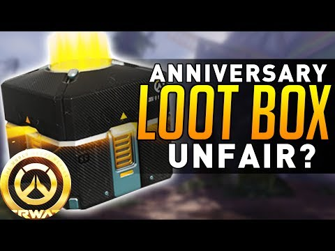 Overwatch Anniversary - Loot Boxes UNFAIR? (Discussion)