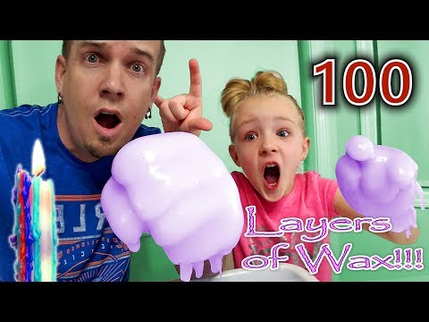 100 Layers of Wax - Trinity and Beyond & Dad!!!