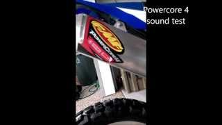 Video FMF Powercore 4 and FMF Q4 Sound level/weight comparison on a Yamaha WR250R download MP3, 3GP, MP4, WEBM, AVI, FLV Desember 2017