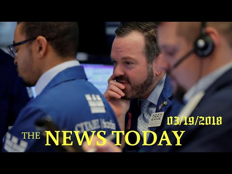 Facebook Plunge Leads Tech, Wall Street Sell-off | News Today | 03/19/2018 | Donald Trump