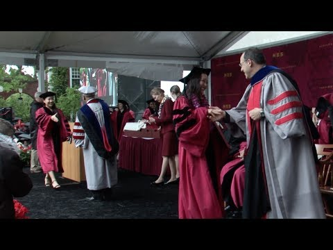 Full Harvard Business School Diploma Ceremony 2017