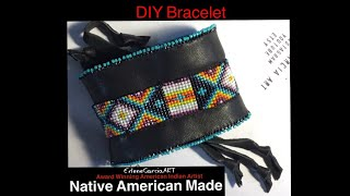 DIY Native American Beaded Bracelet