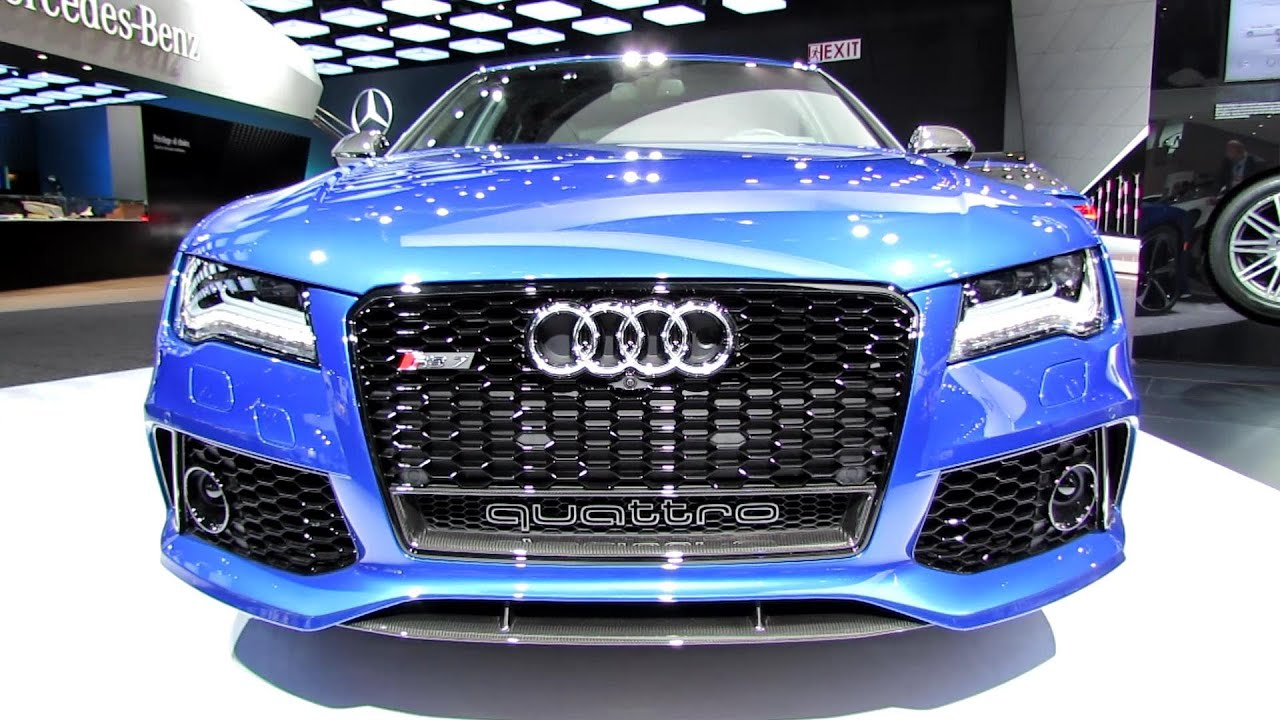 2014 audi rs7 exterior and interior walkaround 2014 detroit auto show youtube. Black Bedroom Furniture Sets. Home Design Ideas