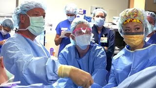New Approach to Gallbladder Surgery Uses A Tiny Incision