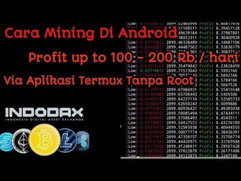 Mining Menggunakan Termux Di Hp Android || Tanpa Root || Sangat Mudah