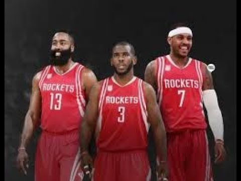 BREAKING NEWS! CARMELO ANTHONY MAY BE A HOUSTON ROCKET BY MONDAY; HIS CAMP IS CAUTIOUSLY OPTIMISTIC!