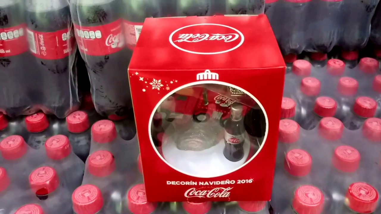 unboxing cami n de coca cola promocion navidad 2016. Black Bedroom Furniture Sets. Home Design Ideas