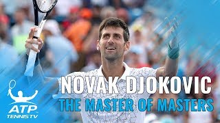 "Miami 2007-Cincinnati 2018: Novak Djokovic ""completes"" the Masters 1000s"