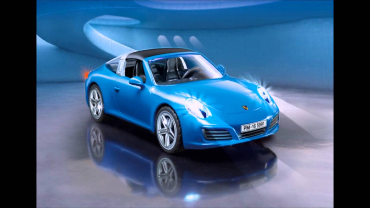 playmobil porsche 911 targa 4s 2017 youtube