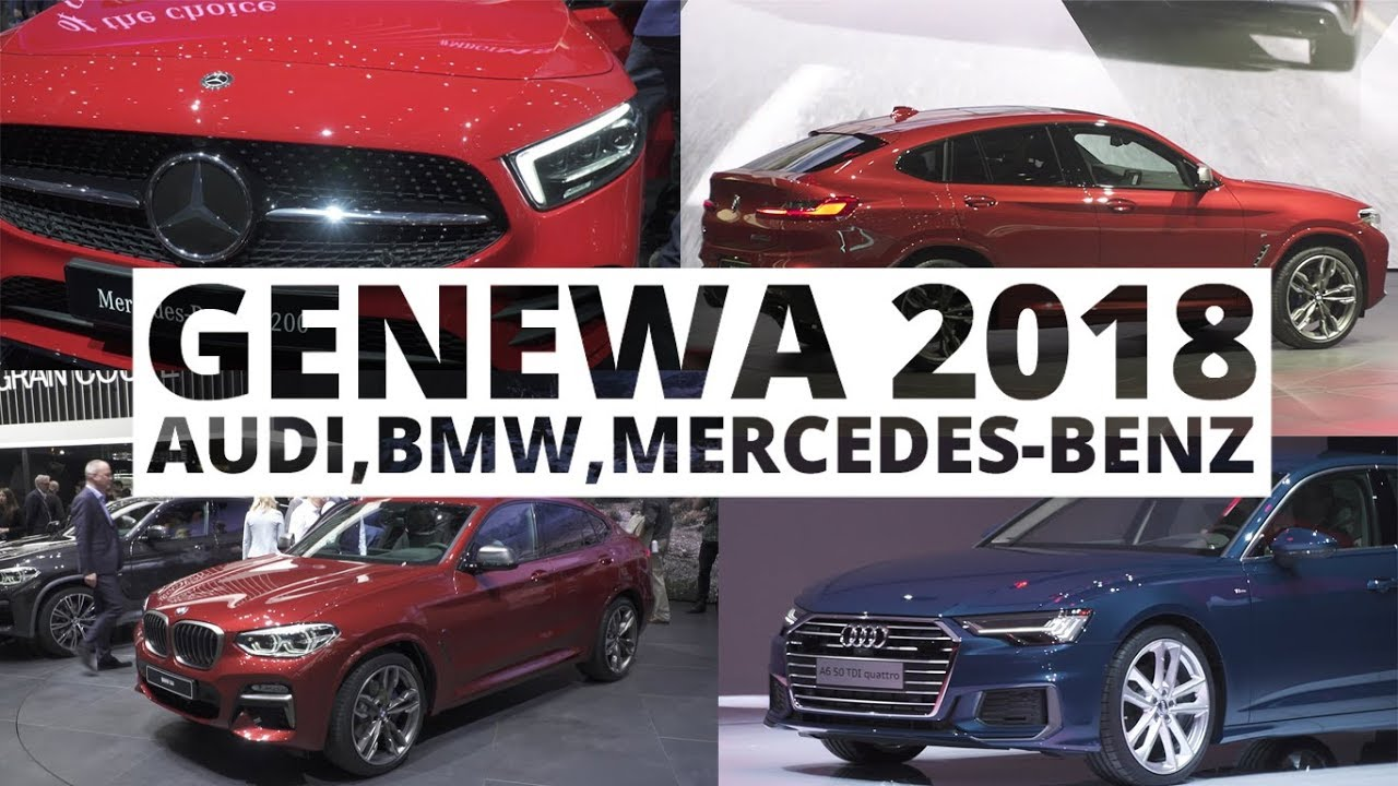 Genewa 2018 – Audi, BMW, Mercedes-Benz