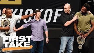 UFC's Daniel Cormier Talks Rematch With Jon Jones | First Take | ESPN