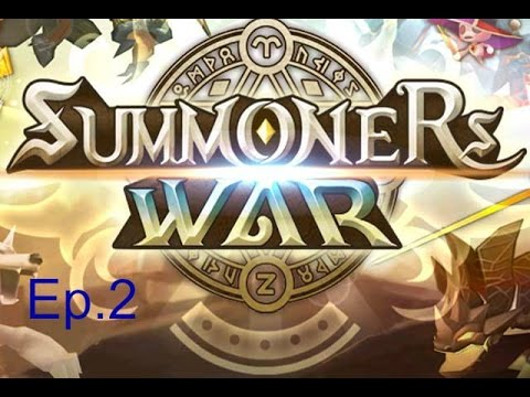 Summoners War Ep.2: Grinding The Scenario Areas!