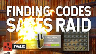 FINDING CODES SAVES THE RAID - RUST