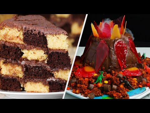 4 Fancy Cakes To Impress Your Guests •Tasty