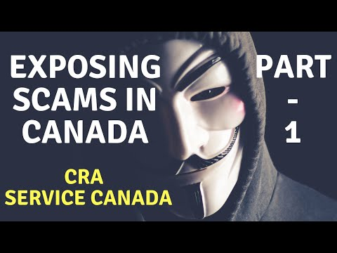 Exposing Scams in Canada – Part 1 | Call Recording | Scam from Legal Department of Service Canada