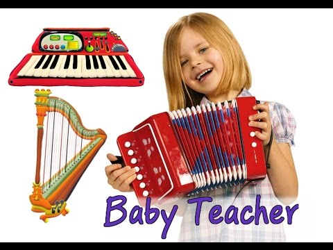 Musical Instruments for Kids – The Little Orchestra | MusicMakers - From Baby Teacher