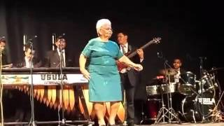 Grandma Takes The Stage With A Stunning Salsa Dance