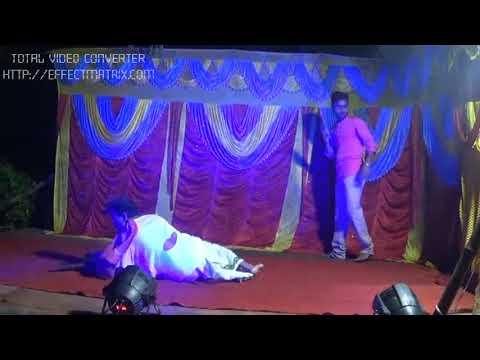 Mo Peta podijae super hit odia bhajana acting by Dharanidhara Nayak on Dasahera stage,chahapada