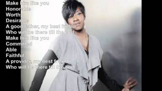 Le'Andria Johnson: Make Him Like You Official Lyric Video (Gospel)