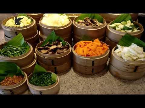 Lunches At JW Kitchen, Marriott Hotel Bengaluru