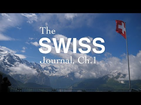 the swiss journal, chapter the first // the panasonic gh5 goes to switzerland
