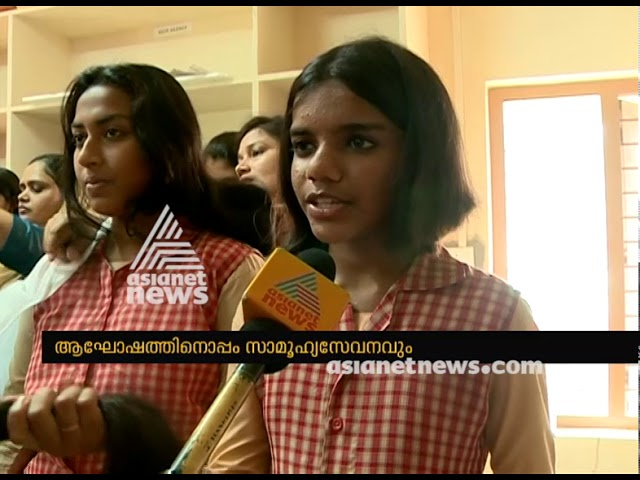 Palakkad Moyan school students donate hair for cancer patients