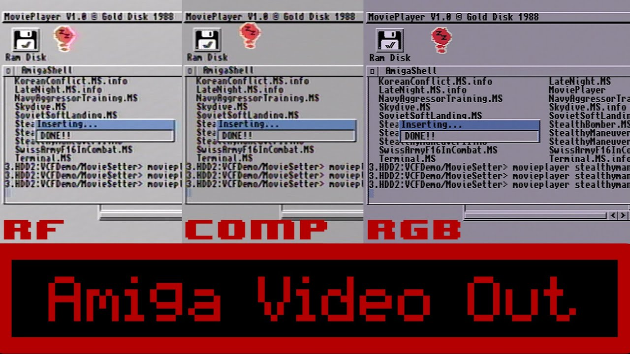video out connecting a commodore amiga 1200 to a modern tv rh youtube com