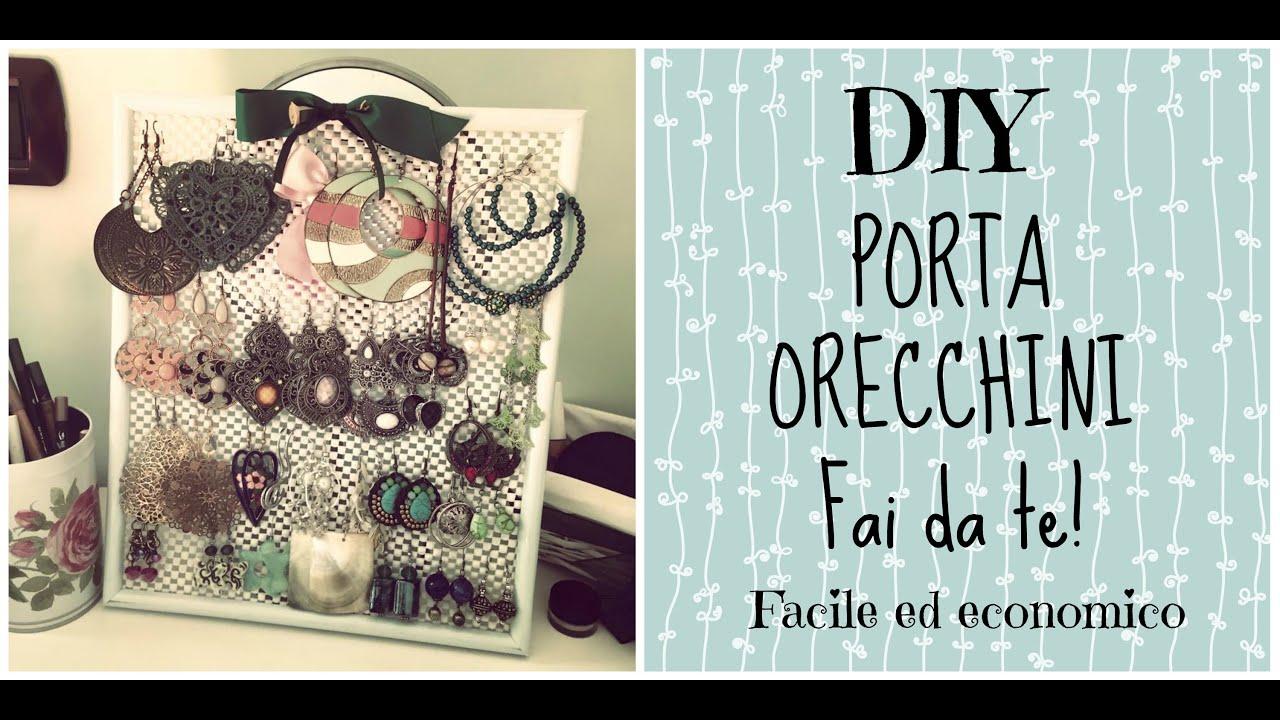 Eccezionale DIY ○ Porta Orecchini FAI DA TE! Facile ed economico  ER59