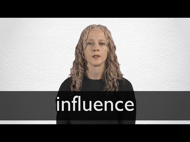 what is the best definition of the word influence