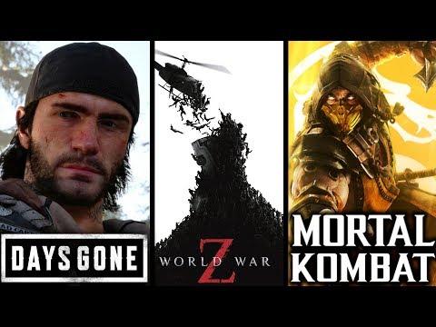 PREMIERY GIER - Kwiecień 2019 (Days Gone, Mortal Kombat 11...)