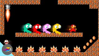 If Ghosts Takes place In Super Mario (Maze)