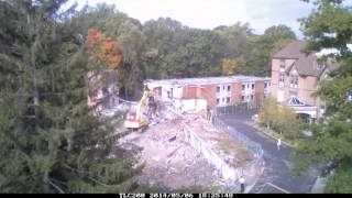 Demolition of a building at the Sisters of the Catholic Apostolate