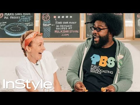 Questlove Bakes in Christina Tosi's Milk Bar Test Kitchen | Table for 2 | InStyle Mp3