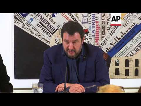 League leader Salvini on Russian elections, Italian politics