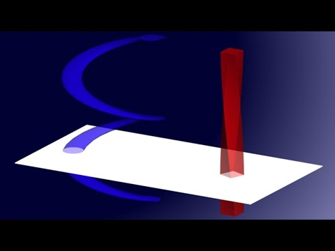 A video depicting how space-time works versus how we perceive it. The universe isn't what we think it is at all