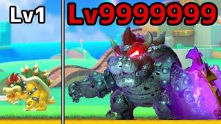 【マリオメーカー2】Lv1クッパを倒したらLv99999デスクッパに進化!!