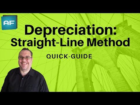Depreciation: Straight Line Method Explained. Depreciation Tutorial W/ Theory, Formula & Example